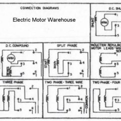 Single Phase Capacitor Run Motor Wiring Diagram 1999 Gmc Sierra 1500 Radio A 9 Lead To Drum Switch