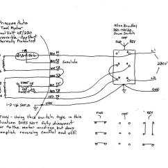 Drum Switch Single Phase Motor Wiring Diagram Vdo Gauges Diagrams A 9 Lead To