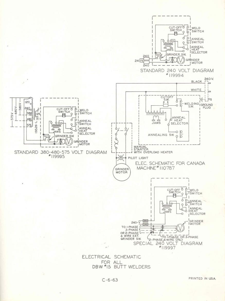 Need DoAll Bandsaw Schematic