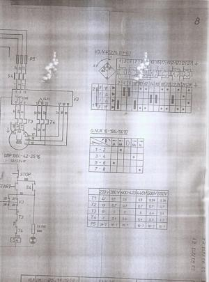 Tos FNK25 manual