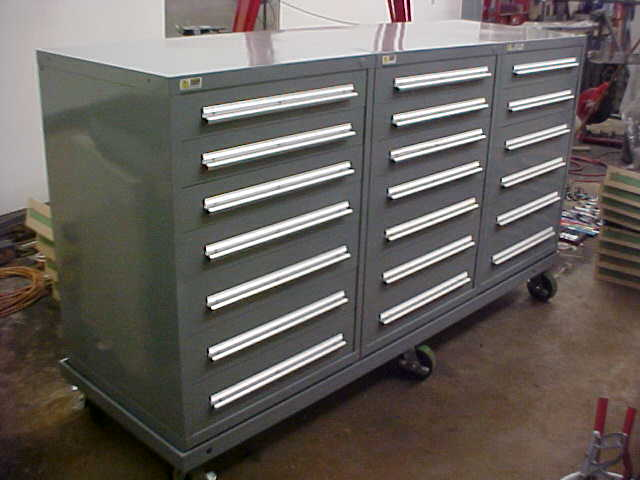 Differences between listas mobile cabinets and toolboxes
