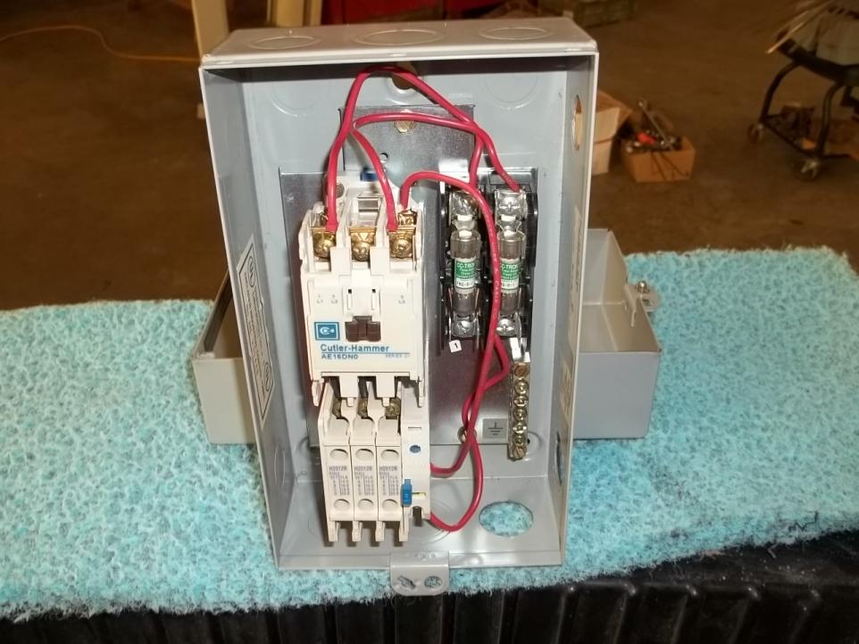 110 wiring diagram how to make a circuit motor starter for cincinnati buffer/grinder question