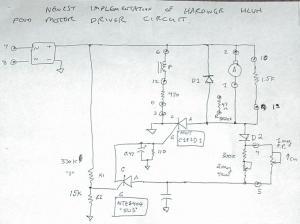Hardinge HC powerfeed rheostat, anyone have or know of a