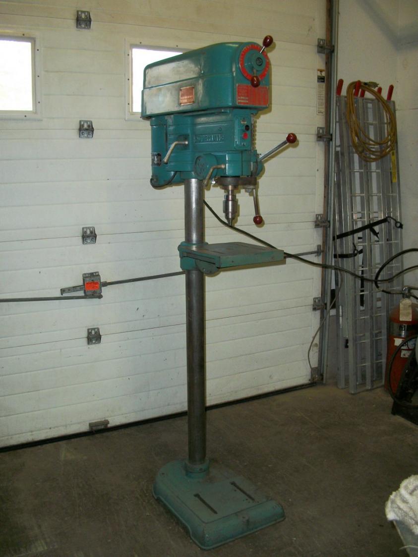 Powermatic drill press model 1100VS