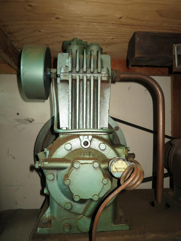 Help Needed To Identify This Quincy Compressor