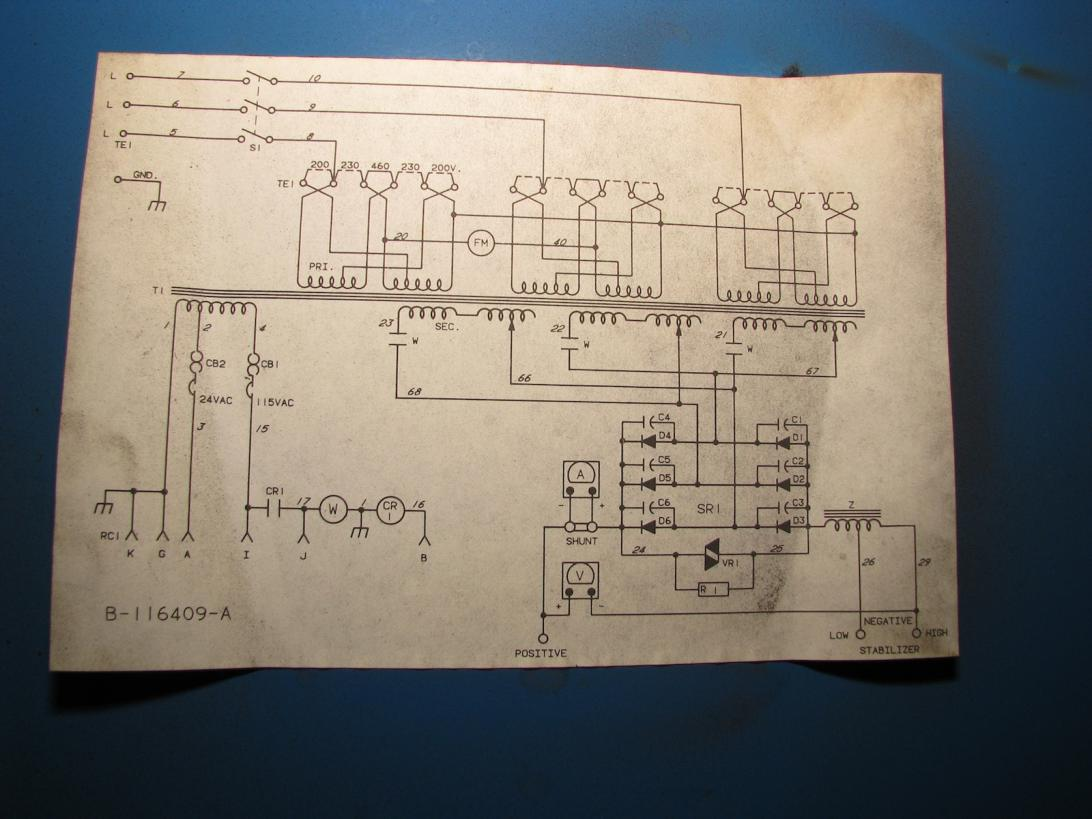 This Block Diagram Includes The Original Arc Welder That Is Connected
