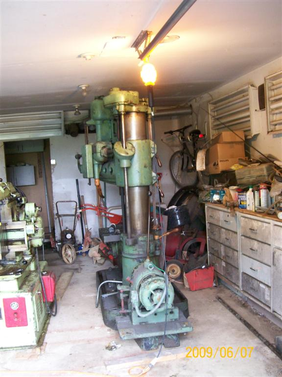 Cincinnati Bickford Radial Arm Drill Press Manual
