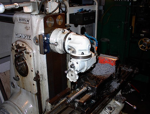 Van Norman Horizontal Milling Machine