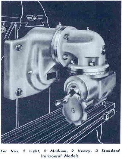 Van Norman Universal Milling Machine