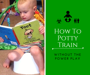 How to potty train without the power play