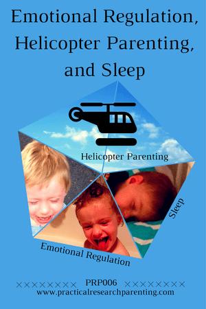 Emotional regulation, helicopter parenting, and sleep image
