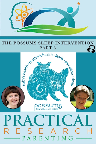 Possums Sleep Intervention Podcast Image