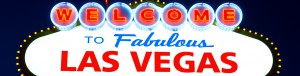 """This is a picture of the famous """"Welcome to Fabulous Las Vegas"""" sign."""