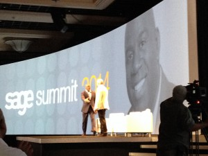 Magic Johnson at Sage Summit