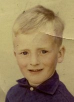 Andy Hunt as a child