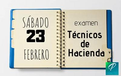 Lista de admitidos y fecha de examen para Técnicos de Hacienda
