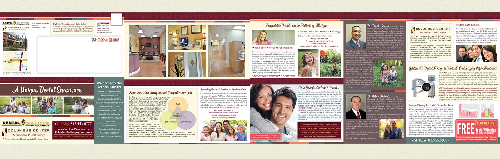 Columbus Dental Solutions Mailer by Practice Cafe