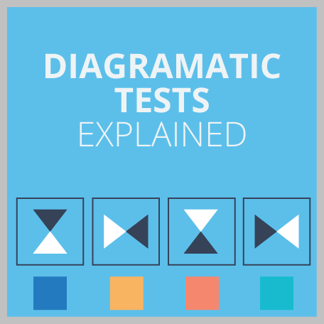 Diagrammatic Reasoning Test Guide (Explained by an Expert): 3 Example Questions, 5 Top Tips and 1 Practice Test