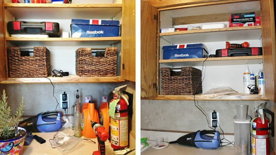 How I Decluttered my Laundry Room