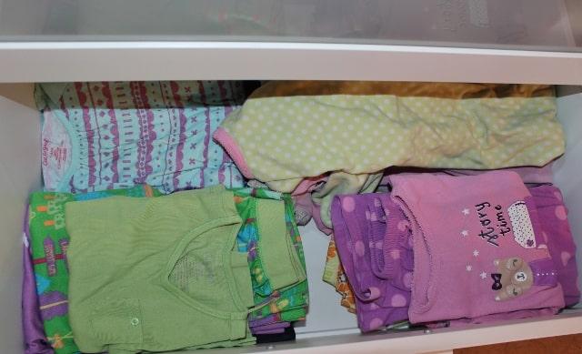 my girls' dresser drawer