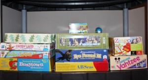 My kids' board games