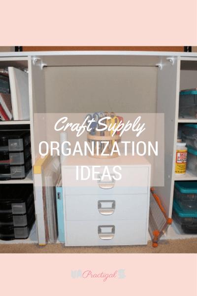 craft supply organization ideas