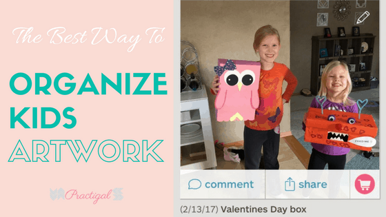 The Best Way to Organize Kids Artwork and Keepsakes
