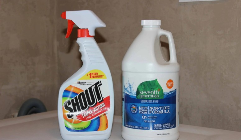 My Secret For Laundry Stain Removal