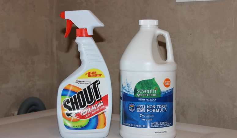 My Secret For Quick and Easy Laundry Stain Removal