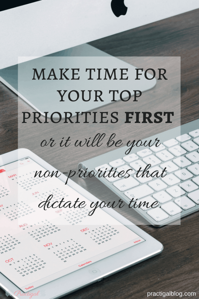 If you want to simplify your life and keep it that way, you need to know what your priorities are and how important they are to you. -Practigal Blog