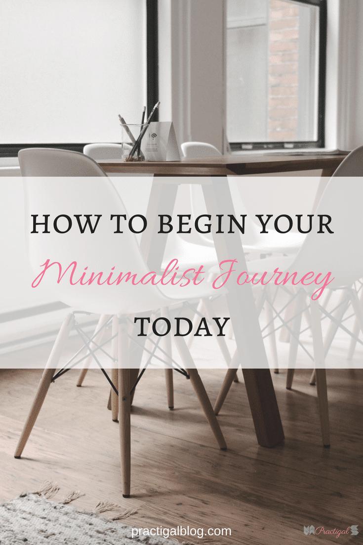 Minimalist declutter blog