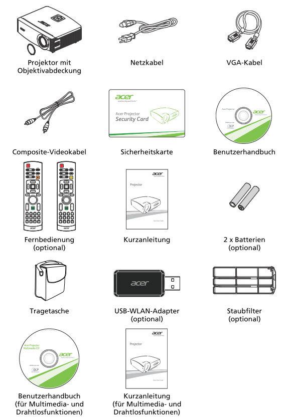 Test Projektoren & Beamer Acer H9505BD