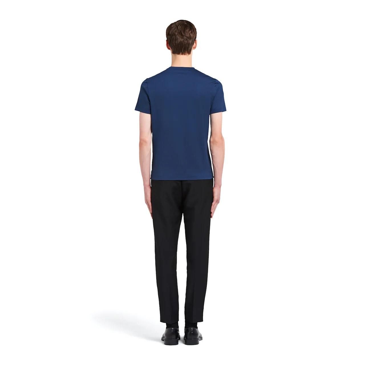 彈力棉質T恤 | Prada - UJM564_1UOR_F0141_S_092