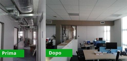Riqualificazione Ufficio Rebuild