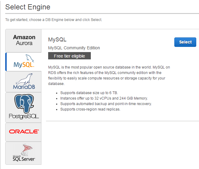 How to create a MySQL database on Amazon RDS   Jack of all