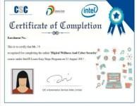 CSC Certificate Download  | Online VLE Certificate Download 2020