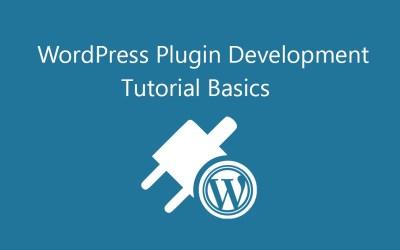 Basics of WordPress Plugin Development Tutorial