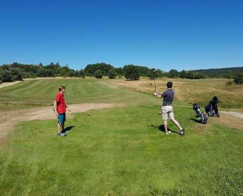 Golfclub Praforst Beginner Scramble Abschlag Golfbahn 4