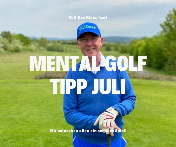 Praforst Mental Golf Tipp Juli 2020