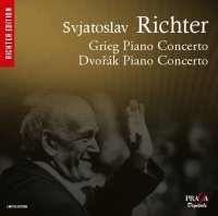Edvard Grieg - Antonin Dvorak : Piano concertos - S. Richter