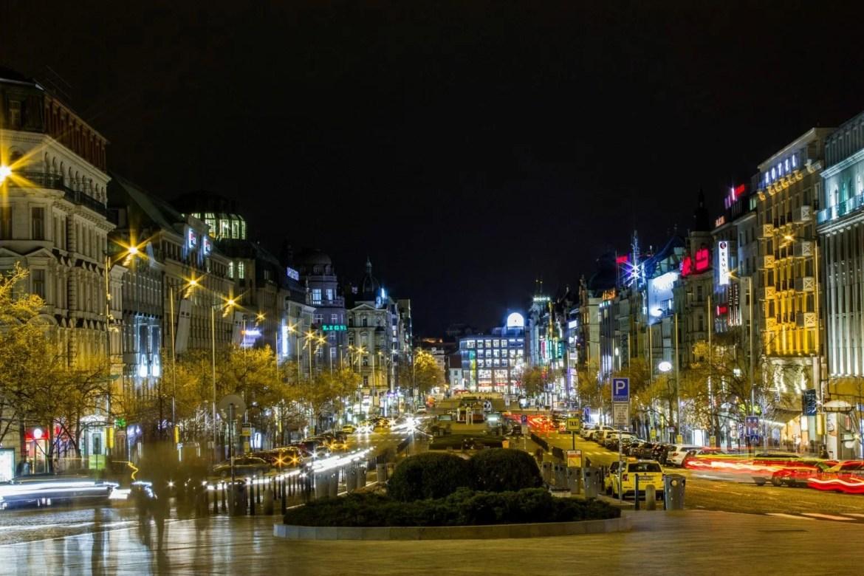 severdigheter i Praha