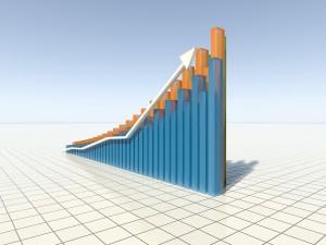 Rising 3d Graph