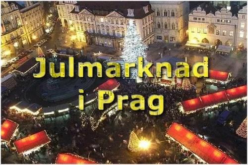 Julmarknad i Prag i 2019