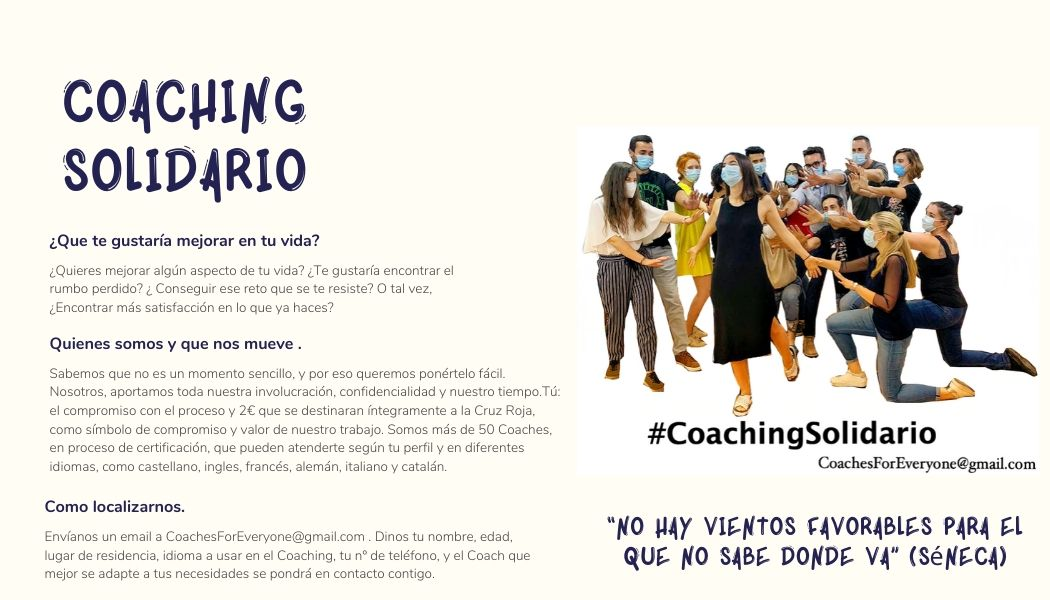 Tarjetas Coaching Solidario