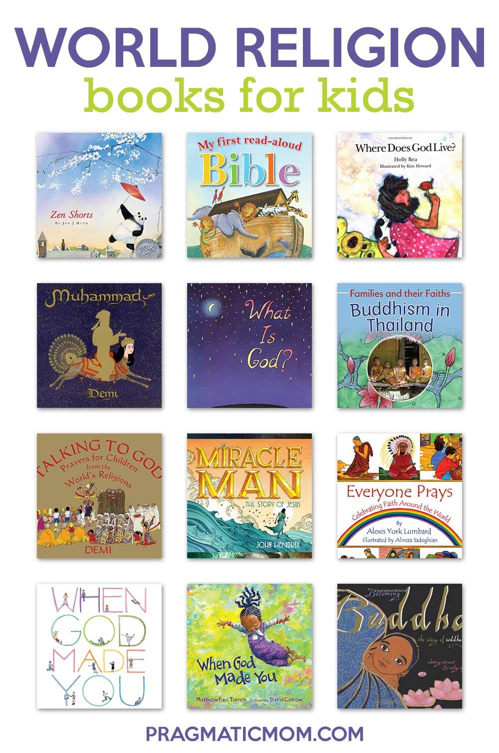 hight resolution of Best Books for Kids on World Religions