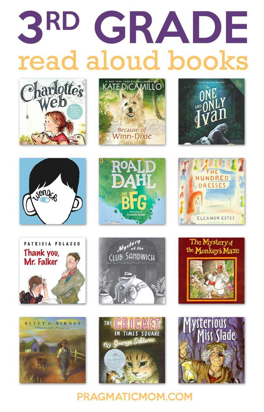 hight resolution of Top 3rd Grade Read Aloud Books   Pragmatic Mom