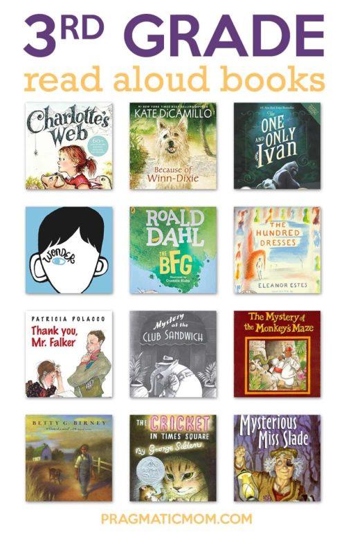 small resolution of Top 3rd Grade Read Aloud Books   Pragmatic Mom