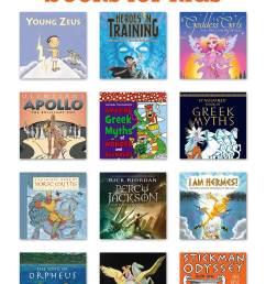 Top 10 Mythology Books for Kids   Pragmatic Mom [ 1508 x 1000 Pixel ]