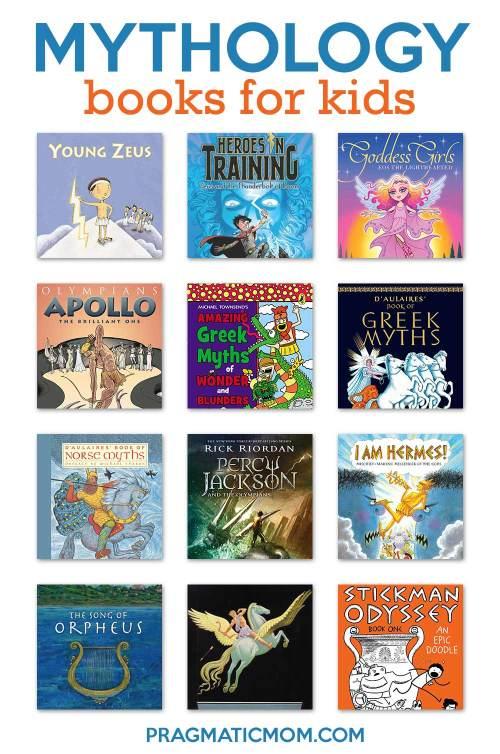 small resolution of Top 10 Mythology Books for Kids   Pragmatic Mom