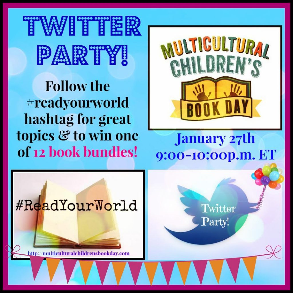 Multicultural Children's Book Day Twitter Party
